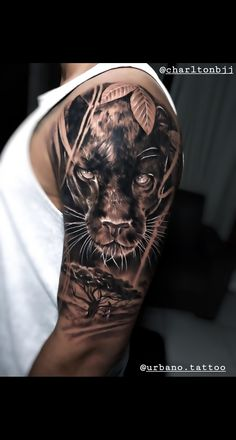 Shoulder Armor Tattoo, Cool Shoulder Tattoos, Cool Forearm Tattoos, Cool Small Tattoos, Arm Tattoos For Guys, Animal Sleeve Tattoo, Skull Sleeve Tattoos, Half Sleeve Tattoos Designs, Tattoo Designs