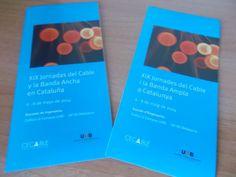 XIX Jornadas del Cable y la Banda Ancha en Cataluña-2014 (Telecomunicaciones y Periodismo)