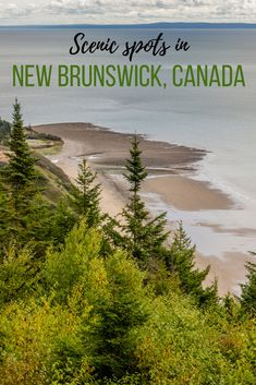The famous Hopewell Rocks, Fundy National Park and cute villages of St. Martins and Alma are some great spots worth exploring in southern New Brunswick. Canada Destinations, Cruise Destinations, Cool Places To Visit, Places To Travel, Ontario, Vancouver, East Coast Canada, Hopewell Rocks, Toronto