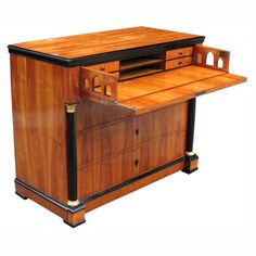 Exemplary South German Biedermeier commode/desk