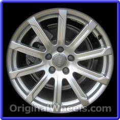 OEM 2010 Audi A5 Rims - Used Factory Wheels from OriginalWheels.com #Audi #AudiA5 #A5 #2010AudiA5 #10AudiA5 #2010 #2010Audi #2010A5 #AudiRims #A5Rims #OEM #Rims #Wheels #AudiWheels #AudiRims #A5Wheels #steelwheels #alloywheels