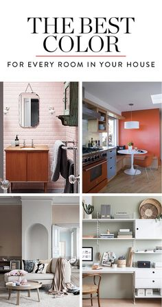 The Best Color for Every Room in Your House, According to Science via @PureWow