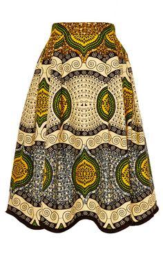 Madagascar Skirt by Lena Hoschek - Moda Operandi