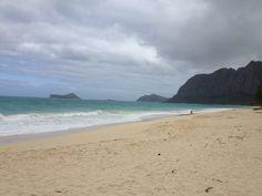waimanalo beach on oahu