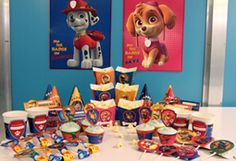 Celebrate your child's birthday with the pups from Paw Patrol!