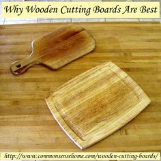 Why Wooden Cutting Boards Are Best