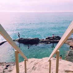 The perfect summer beach day at 1000 Steps Beach, Laguna, California