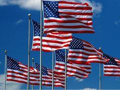 us flag and modern building - Hledat Googlem