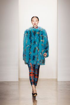 Peter Som Fall 2013 Ready-to-Wear Fashion Show