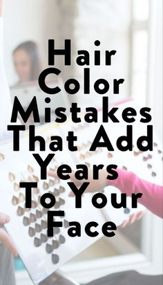 Find out if you're making these hair color mistakes that age you on SHEfinds.com.  #hair #haircare #haircolor Beauty Makeup Tips, Beauty Advice, Beauty Skin, Most Common Hair Color, Hairstyle For Chubby Face, How To Grow Your Hair Faster, Color Your Hair, Beauty Magazine, Hair A