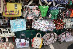 Bags - Portobello Market, London - Sept 2014