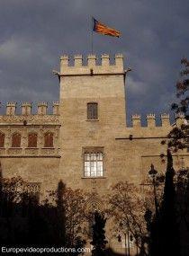 Llotja de la Seda UNESCO World heritage site in Valencia, Spain