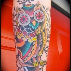 I could never pull it off, but of course I LOVE IT! #owl