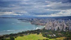 https://flic.kr/p/ucHGXt | Waikiki beach skyline | The view from Diamond Head…