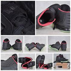 Mens Air Yeezys Black Grey Pink shoes
