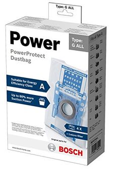 Bosch Vacuum Cleaner Bag Type G All PowerProtect BBZ41FGALL CF.SACC.UNIV.ASPIR. (Barcode EAN = 4242002830414). http://www.comparestoreprices.co.uk/january-2017-2/bosch-vacuum-cleaner-bag-type-g-all-powerprotect.asp