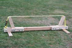 scrap wood slackline