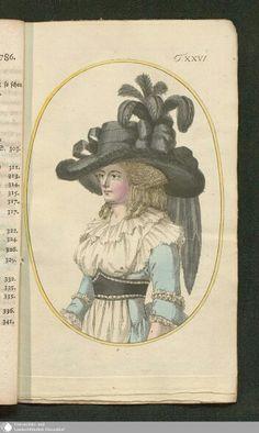September 1786  Journal des Luxus under der Moden