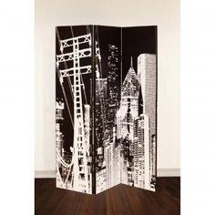 Arthouse 3 Panel Room Divider City Pylon 008202