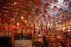 Hong Kong. Man Mo Temple. Soo looking forward to seeing this with my own eyes.