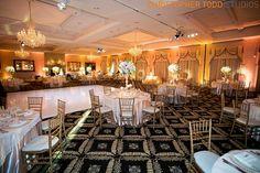 Trump national wedding photography reception  room
