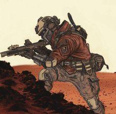 Mars Coalition Trooper (OC) - Imgur