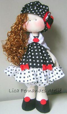 Como hacer muñecas de trapos con moldes gratis Doll Toys, Baby Dolls, Sewing Dolls, Child Doll, Soft Dolls, Cute Dolls, Diy Doll, Fabric Dolls, Softies