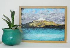 Ben Lomond - original acrylic painting by AlinaBjelos on Etsy