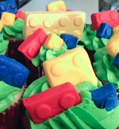 LEGO cupcakes & more parties ideas!