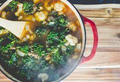 Kale Sausage Soup Recipe - Bound By Food