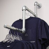 hanging pipe clothing rack - Google Search