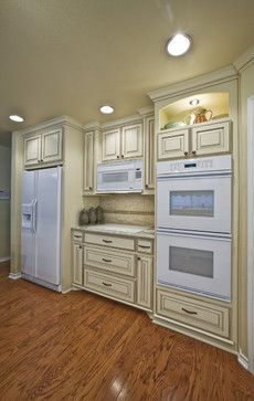 Traditional Kitchen Photos Kitchens+small Spaces+living Room+ivory Cabinets  Design, Pictures
