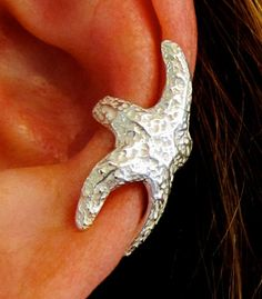 Starfish Ear Cuff by bejewelmaine on Etsy, $30.00 jeweled