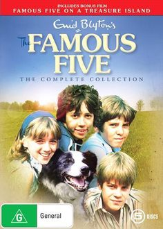 Famous Five The Complete Collection dvd