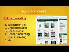 the differences between offline marketing and online marketing. Video that explains how to integrate online marketing and offline marketing. Social Media Banner, Integrity, Email Marketing, Videos, Blog, Data Integrity, Blogging