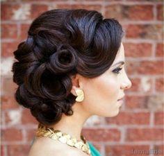 221 wedding hairstyle for medium hair (115)