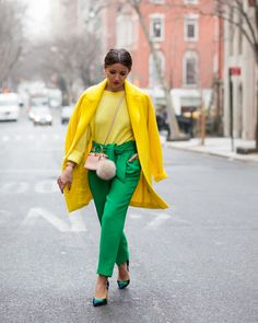 Lovely Pepa by Alexandra Fashion Blogger Style, I Love Fashion, Fashion Today, Fashion Bloggers, Fashion Colours, Colorful Fashion, Mellow Yellow, Yellow Coat, Fashion Outfits