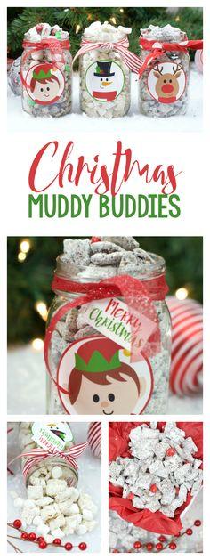 Christmas Muddy Buddies