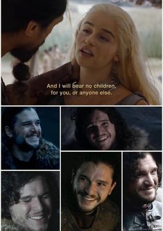 BAHAHHAHAHA until she meets Jon Snow