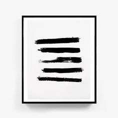 Best Selling Items, Abstract Painting, Brush Prints, Simple Prints, Black Painting, Modern Prints, Brush Stroke Print, Brush Strokes #printableart