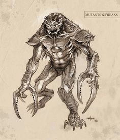 Creature Concept 12 by NathanRosario on DeviantArt