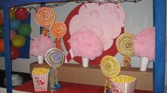 Cotton Candy & Popcorn