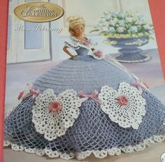 Miss February Cotillion Barbie Doll Dress Pattern by Annie's Attic