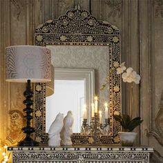 Bone Inlay Furniture|Mother of Pearl Inlay Furnitu