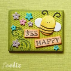 Bee Happy by feeliz, via Flickr