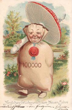 1904 vintage card