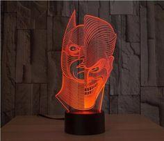 JOKER BATMAN 3D LED LAMP
