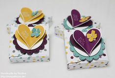 ENVELOPE PUNCH BOARD - Stampin Up Box Envelope Punch Board Verpackung Goodie Give Away 070