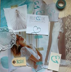 blog mood board by Belle for #bywbootcamp