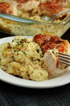 Easy Chicken and Rice is a perfect meal for your weeknight dinner #easy_chicken_and_rice #weeknight_dinner #perfect_meal Rice Recipes For Dinner, Easy Chicken Dinner Recipes, Easy Meals, Easy Recipes, Chicken An Rice Recipes, Chicken Rice Casserole, Popular Recipes, Weeknight Meals, Healthy Recipes